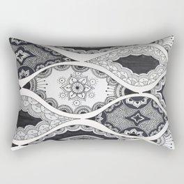 Patterned Pods Rectangular Pillow