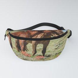 Wyoming Wild_Horses - II Fanny Pack
