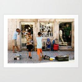 Split, Croatia Art Print
