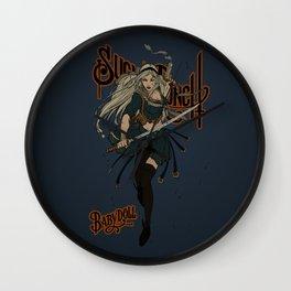 Babydoll Wall Clock