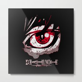 The DeathNote Metal Print