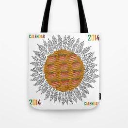 Calendar 2014 - Sunflower Tote Bag