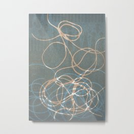 Blue Nest 1 Metal Print