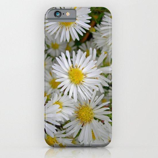 white daisy I iPhone & iPod Case