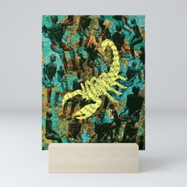 The real scorpions Mini Art Print