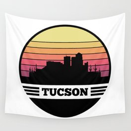 Tucson Skyline Wall Tapestry