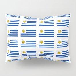 flag of Uruguay 2 -Uruguyan,montevideo,spanish,america,latine,Salto,south america,paysandu,costa,sun Pillow Sham