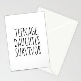 Teenage Daughter Survivor Stationery Cards
