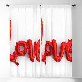 love balloon Blackout Curtain