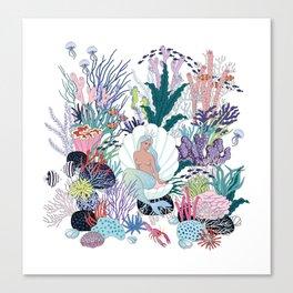 mermaids Kingdom Canvas Print