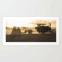 Dorset Steam Rally 1 Art Print