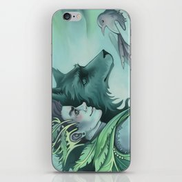 The Forest Prince iPhone Skin