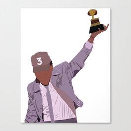 Chance the Rapper - Grammy Canvas Print