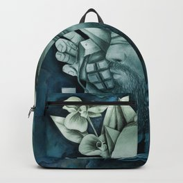 Chaotic Disorders ONE - Deep Turquoise Backpack