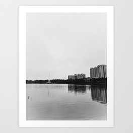 Lake Eola Orlando Florida Art Print