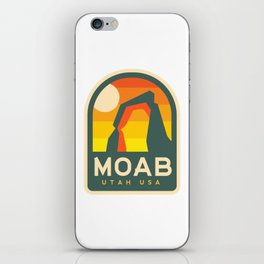 Moab Utah Patch iPhone Skin