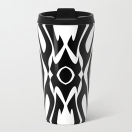 Virulent Black Travel Mug