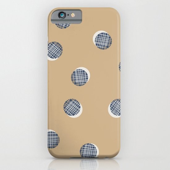 Mixed Dots - in Cocoa iPhone & iPod Case