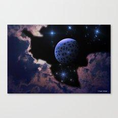 Strange Moon Rising Canvas Print