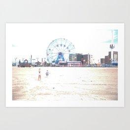 Wonder Wheel Art Print