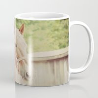 arab Mugs featuring Horse Quote Arab proverb by KimberosePhotography