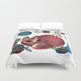 Weekend Chill Duvet Cover
