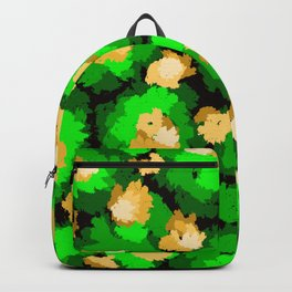 The colorful Book of Enchanted Garden. Backpack