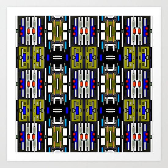 Abstract36 Art Print