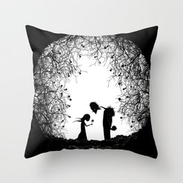 The Wild Rose Throw Pillow