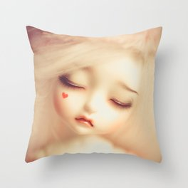 Invisible Tears Throw Pillow