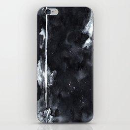 Black N White iPhone Skin