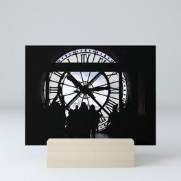 El reloj de Orsay Mini Art Print