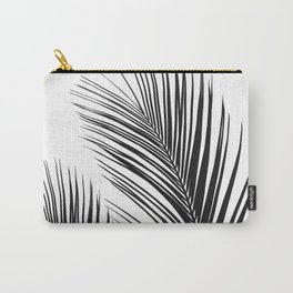 Tropical Palm Leaves #1 #botanical #decor #art #society6 Carry-All Pouch