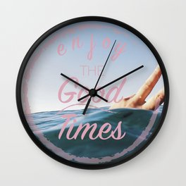 Enjoy Wall Clock