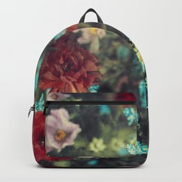 Spring Message - Colourful Flowers Backpack