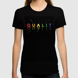 EQUALITY to promote Equal Rights LGBTQ Unity Pride T-shirt