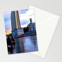 Motorbikes in South East Asia Stationery Cards