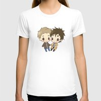 destiel T-shirts featuring Destiel by PrettyOddChild