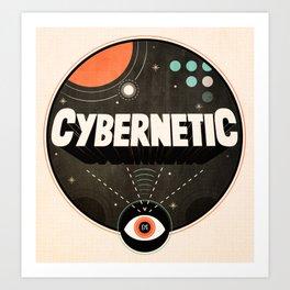 Cybernetic Eye Art Print