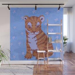 Young tiger Wall Mural
