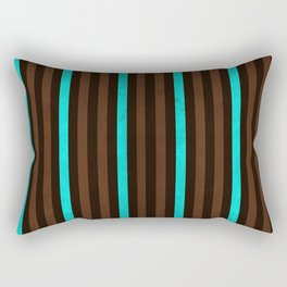 Stripes Collection: Earth & Water Rectangular Pillow