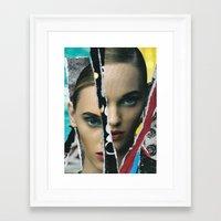 half life Framed Art Prints featuring Half Life by Joel Lambeth