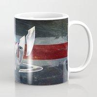n7 Mugs featuring N7 Spectre by Toronto Sol