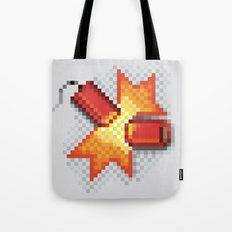 Pixel Boom Tote Bag