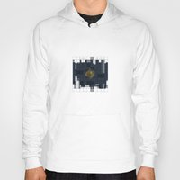 square Hoodies featuring Square by thinschi