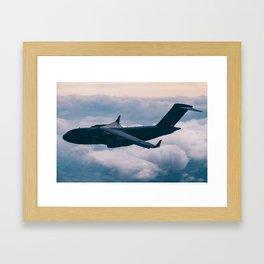 Globemaster Framed Art Print