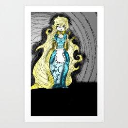 Dark Allie. Art Print