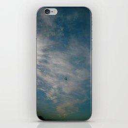 """""""I like airplanes. I like anywhere that isn't a proper place. I like in-betweens."""" iPhone Skin"""