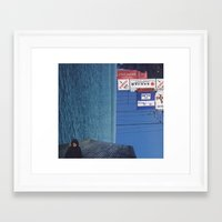 submarine Framed Art Prints featuring submarine by Mirawek Wolff