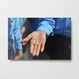 A Hand of Welcome Metal Print